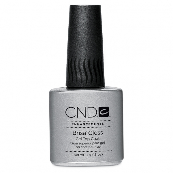 CND Brisa UV Gloss Top Coat, Топ, 14 мл