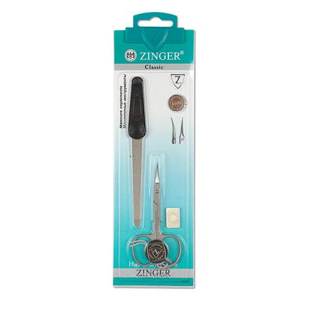 Купить Zinger, Комплект маникюрный SIS-13