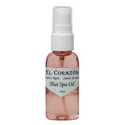 El Corazon, Thai Spa Oil, сыворотка для необрезного маникюра, 30 мл sea of spa крем морковный универсальный 500 мл