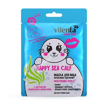 Купить Vilenta, Тканевая маска для лица Happy Sea Calf, 28 мл
