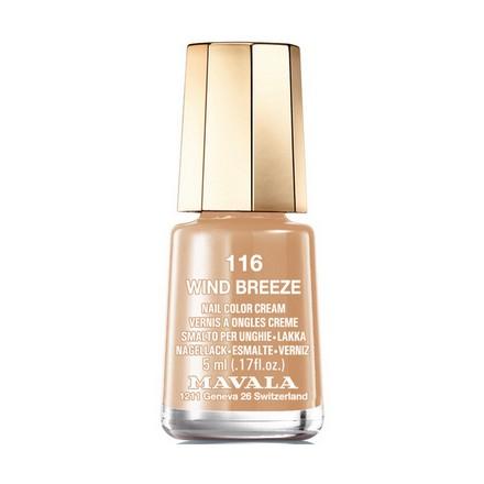 Mavala, Лак для ногтей №116, Wind BreezeMavala<br>Лак для ногтей (5 мл). Точное описание цвета появится в ближайшее время.