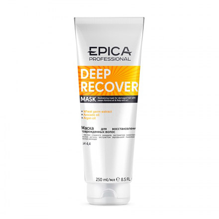 Epica, Маска Deep Recover, 250 мл chi luxury black seed oil curl defining cream gel