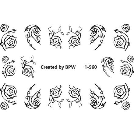 Купить BPW.Style, Слайдер-дизайн «Sweetbloom цветы» №1-560