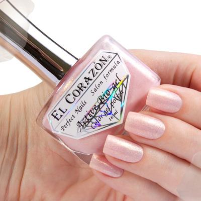Купить El Corazon, Серия Активный Биогель Shimmer, № 423/002, Розовый