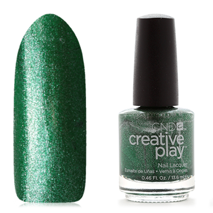 CND Creative Play, цвет Shamrock On You, 13,6 мл