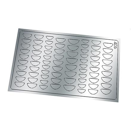 Купить Freedecor, Металлизированные наклейки №187, серебро