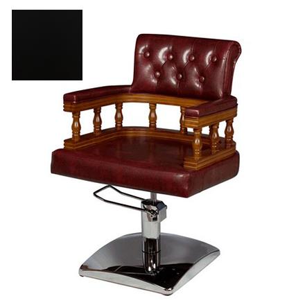 Купить Мэдисон, Кресло парикмахерское «МД-170» гидравлическое, хромированное, черное