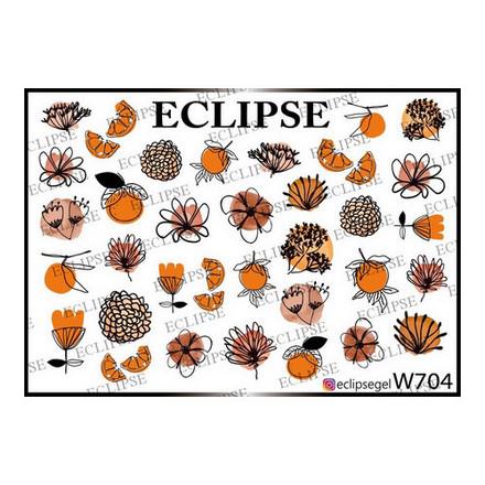 Купить Eclipse, Слайдер-дизайн для ногтей W №704