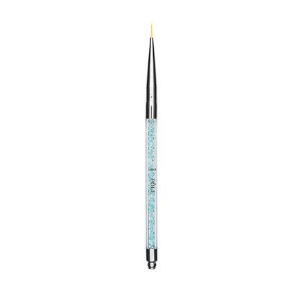 Купить Pole, Кисть для дизайна №000, Голубой хрусталь