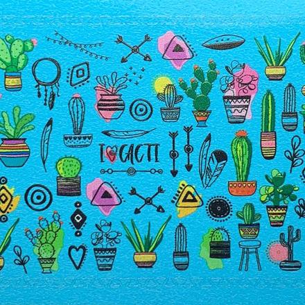 Anna Tkacheva, Cлайдер SM №48 «Цветы. Кактусы» фото