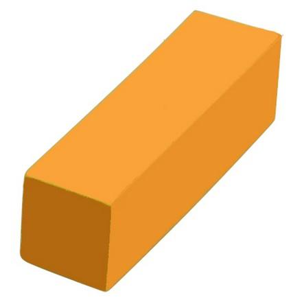 IRISK, Шлифовочный блок Б306-01, оранжевый