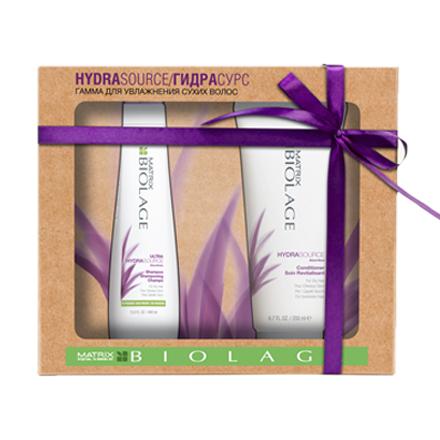 Matrix, Набор Biolage Hydrasource для сухих и ослабленных волос