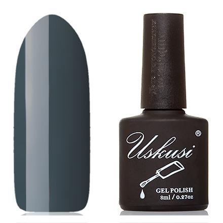 Uskusi, Гель-лак №156Uskusi<br>Гель-лак (8 мл) бирюзово-серый, без перламутра и блесток, плотный.<br><br>Цвет: Черный<br>Объем мл: 8.00