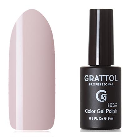 Grattol, Гель-лак Classic Collection №116, Light creamGrattol<br>Гель-лак (9 мл) светлый розовато-кремовый, без перламутра и блесток, плотный.