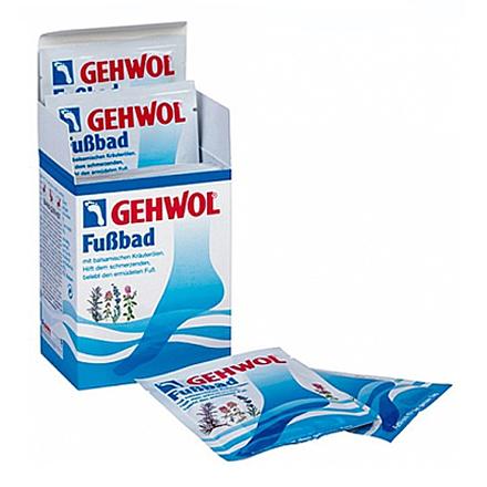 Gehwol, Ванна для ног 10 пакетов, 200 гр