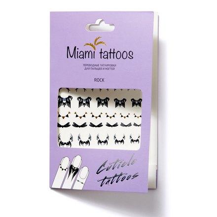Miami Tattoos, Переводные татуировки Rock /Cuticle Tattoo