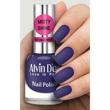 Купить Alvin D`or, Лак Misty shine №544, Alvin D'or, Синий