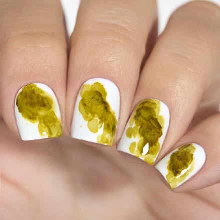 Купить Masura, Акварельные капли для дизайна, яркое золото