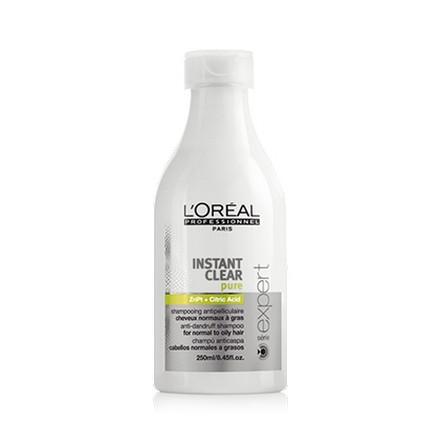 Loreal Professionnel, Serie Expert Instant Clear Pure Shampoo, Шампунь от перхоти, 250 млШампуни для волос<br>Шампунь против перхоти для нормальных и жирных волос.<br><br>Объем мл: 250.00
