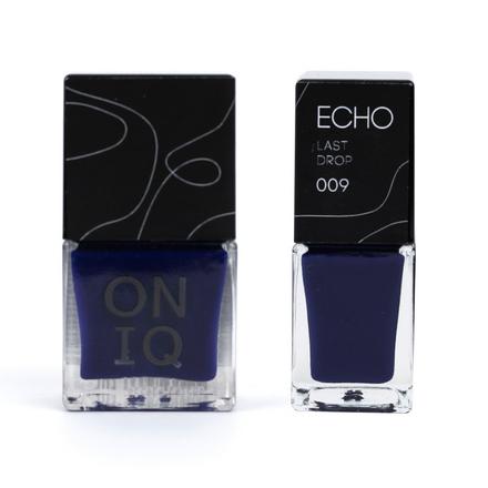 ONIQ, Лак для стемпинга Echo, Last Drop oniq лак для стемпинга echo play cold