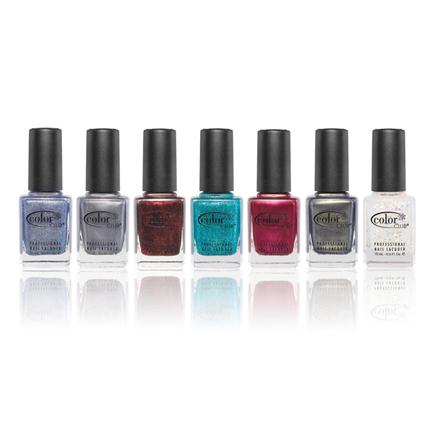 Color Club, Набор лаков Untamed Luxury Pack Diamonds