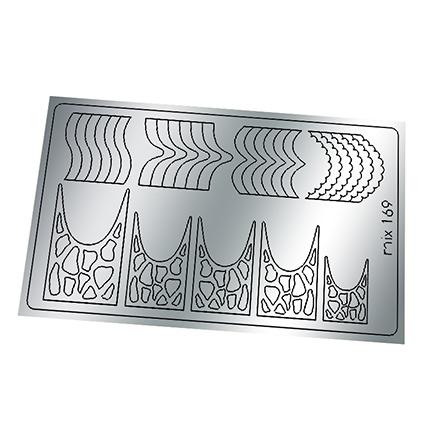 Купить Freedecor, Металлизированные наклейки №169, серебро