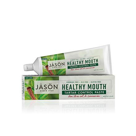 JASON, Зубная паста Healthy Mouth Tartar Control, 119 г