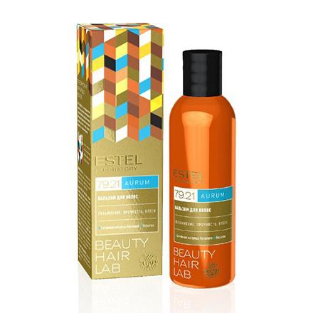 Estel, Бальзам Beauty Hair Lab, Aurum, 200 млБальзамы для волос<br>Бальзам с матрицей Keramare на основе бурой водоросли.
