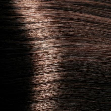 Kapous, Крем-краска для волос Hyaluronic 5.23, светлый коричневый перламутровый, 100 мл краска для волос kapous professional hyaluronic acid hair color серебро