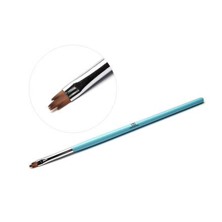 TNL, Кисть для дизайна фигурная «Лилия», голубая