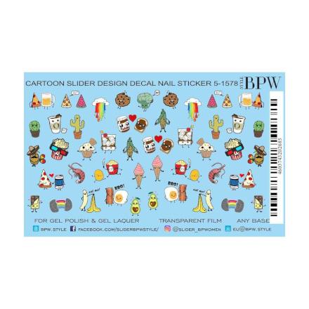 Купить BPW.style, Слайдер-дизайн «Мультяшки микс» №5-1578