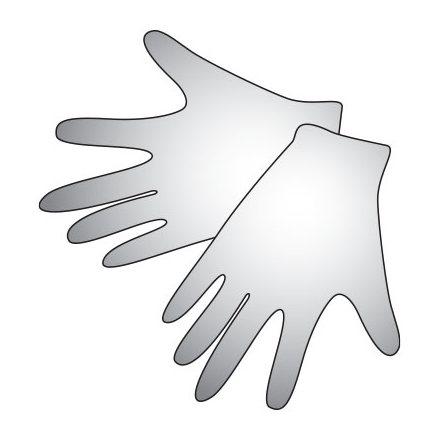 Irisk, одноразовые полиэтиленовые перчатки (размер М), 50 пар (IRISK)