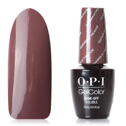 OPI GelColor, Washington, Гель-лак Squeaker Of The House