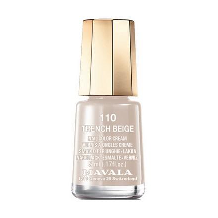 Купить Mavala, Лак для ногтей №110, Trench Beige, Коричневый