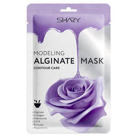 Shary, Альгинатная маска «Контурная подтяжка»,  28 г