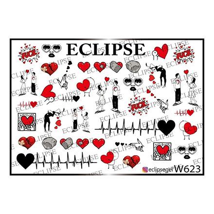 Купить Eclipse, Слайдер-дизайн для ногтей W №623