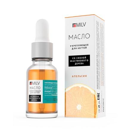 Milv, Масло для ногтей «Апельсин», 15 мл
