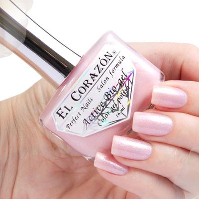 Купить El Corazon, Серия Активный Биогель Shimmer, № 423/001, Розовый