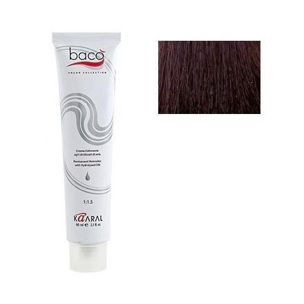 Kaaral, Крем-краска для волос Baco B 6.00Краска для волос<br>Цвет: темно-белокурый интенсивный. Объем: 100 мл.