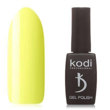 Kodi, Гель-лак №110BRKodi Professional<br>Гель-лак (12 мл) зеленовато-желтый, без перламутра и блесток, плотный. Прошлая серия: №290.