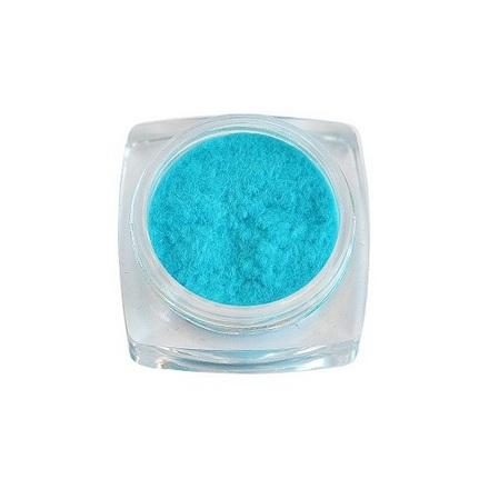 TNL, Флок №09, голубой флок ткань где в спб