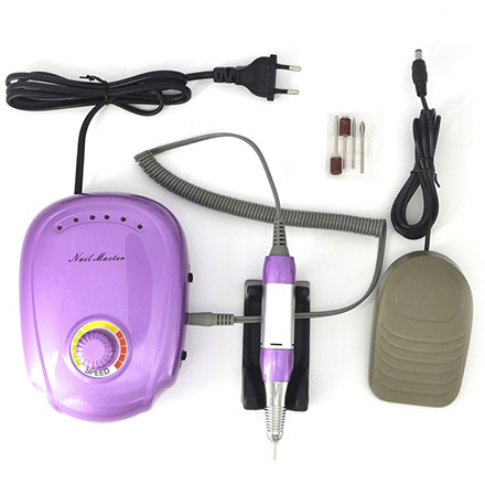 Купить Аппарат для маникюра Nail Master, Аппарат для маникюра JMD-303, фиолетовый