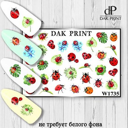 Купить Dak Print, Слайдер-дизайн №1735