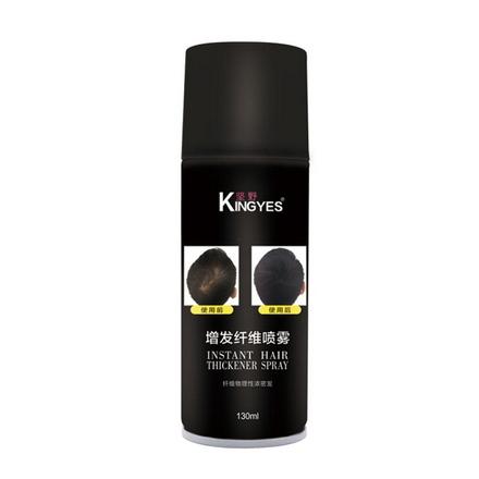 Купить Kingyes, Загуститель для волос Dark brown, 130 мл