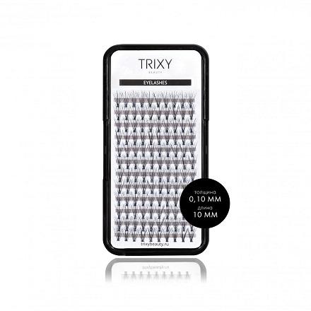 Купить Trixy Beauty, Ресницы для наращивания Smart, 10 мм, 10 шт. в пучке