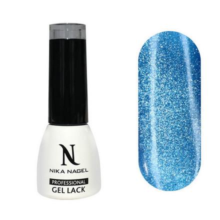 Купить Nika Nagel, Гель-лак Luna №8, Голубой