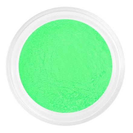 Patrisa nail, Неоновая пыльца для втирки №21 (зеленая, неоновая)