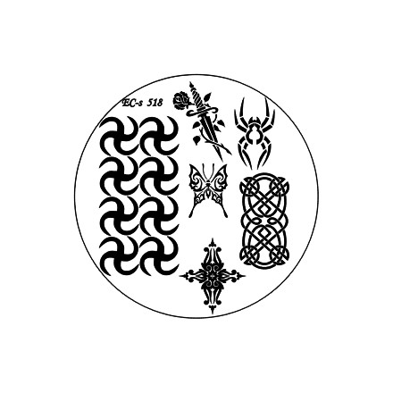 El Corazon, диск для стемпинга № EC-s 518