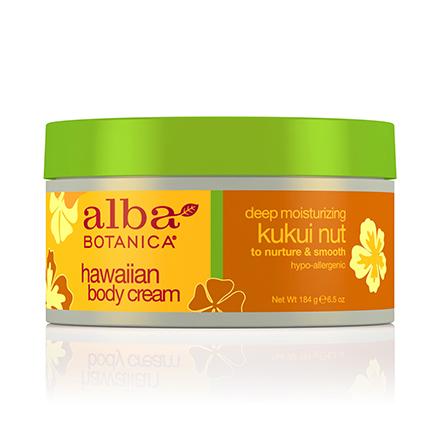Alba Botanica, Крем для тела Hawaiian Kukui Nut, 184 г солнцезащитное средство alba botanica