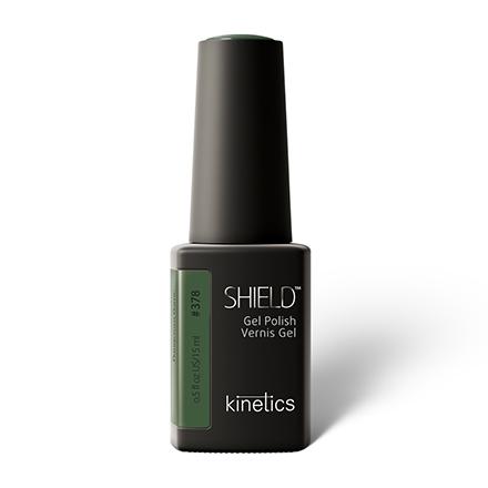 Купить Kinetics, Гель-лак Shield №378, 15 мл, Зеленый